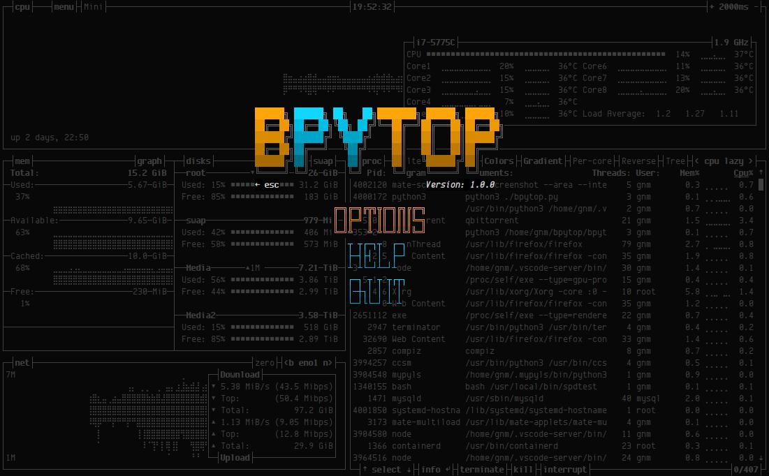 bpytop
