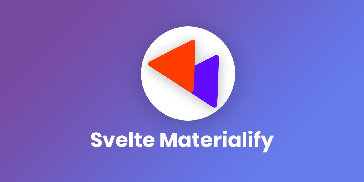 svelte-materialify