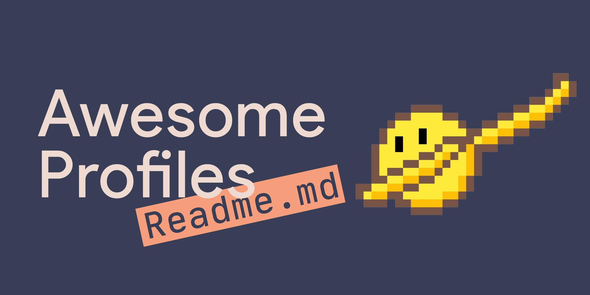 Awesome-Profile-README-templates