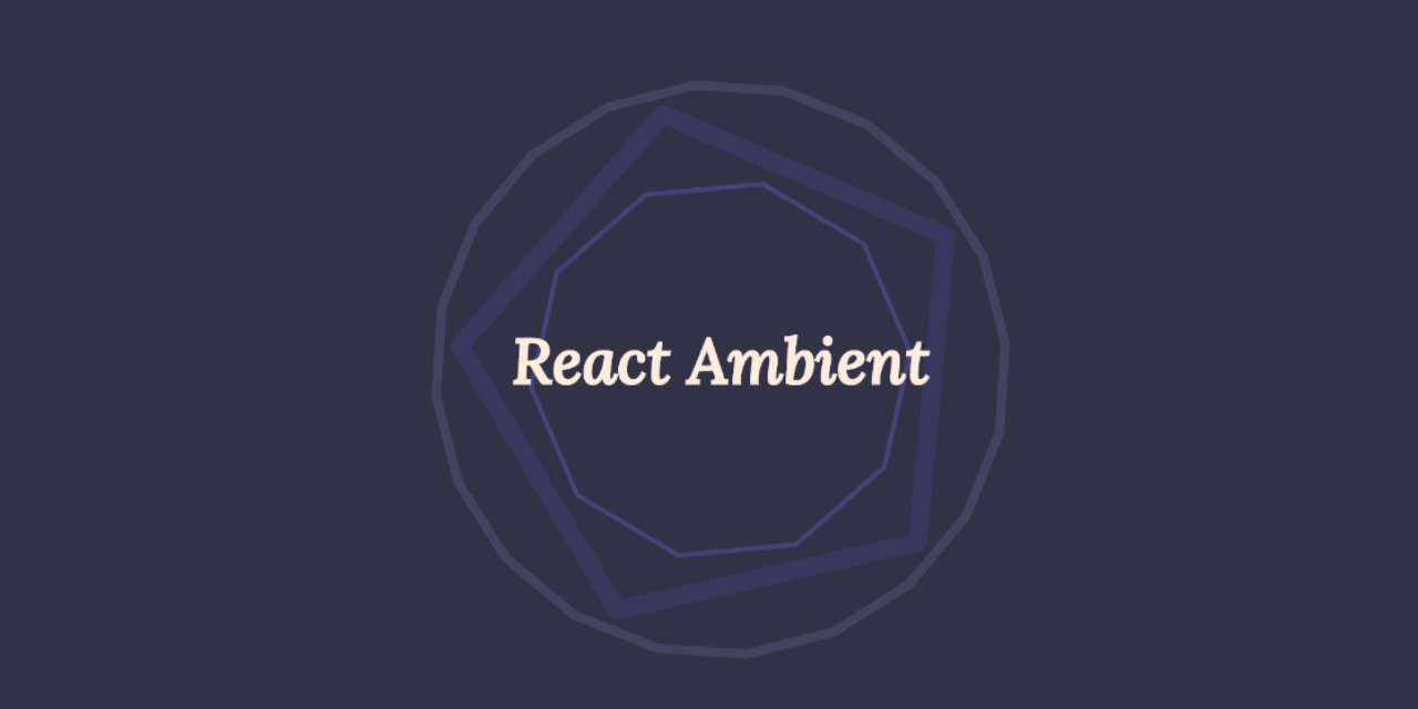 Cover image for repository react-ambient