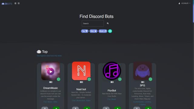 Discord Bots Github Topics Github