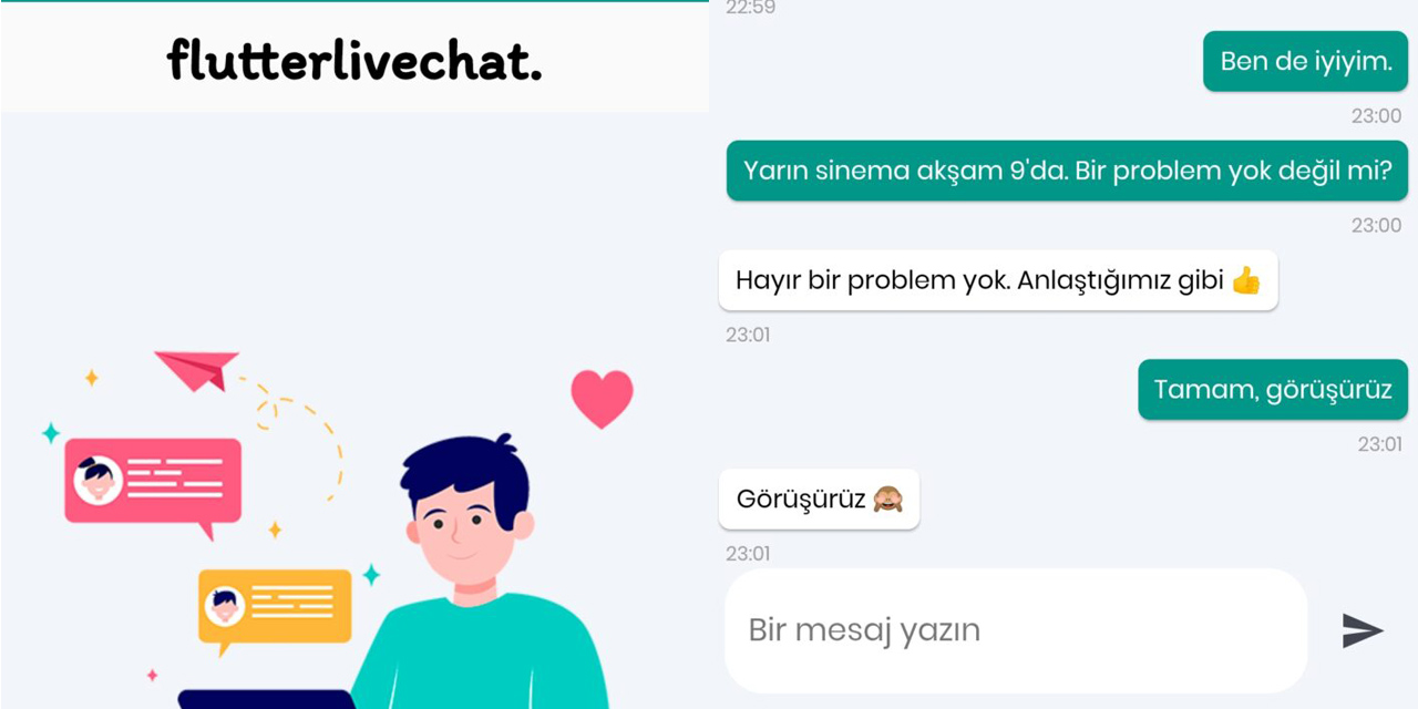 GitHub - berkanaslan/flutter_live_chat_app: 💬 A live chat