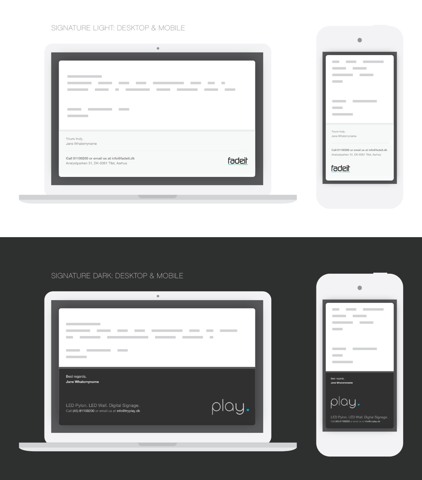 github danmindru responsive html email signature. Black Bedroom Furniture Sets. Home Design Ideas