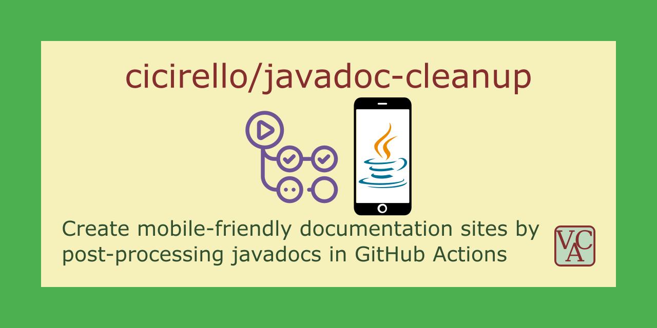 javadoc-cleanup