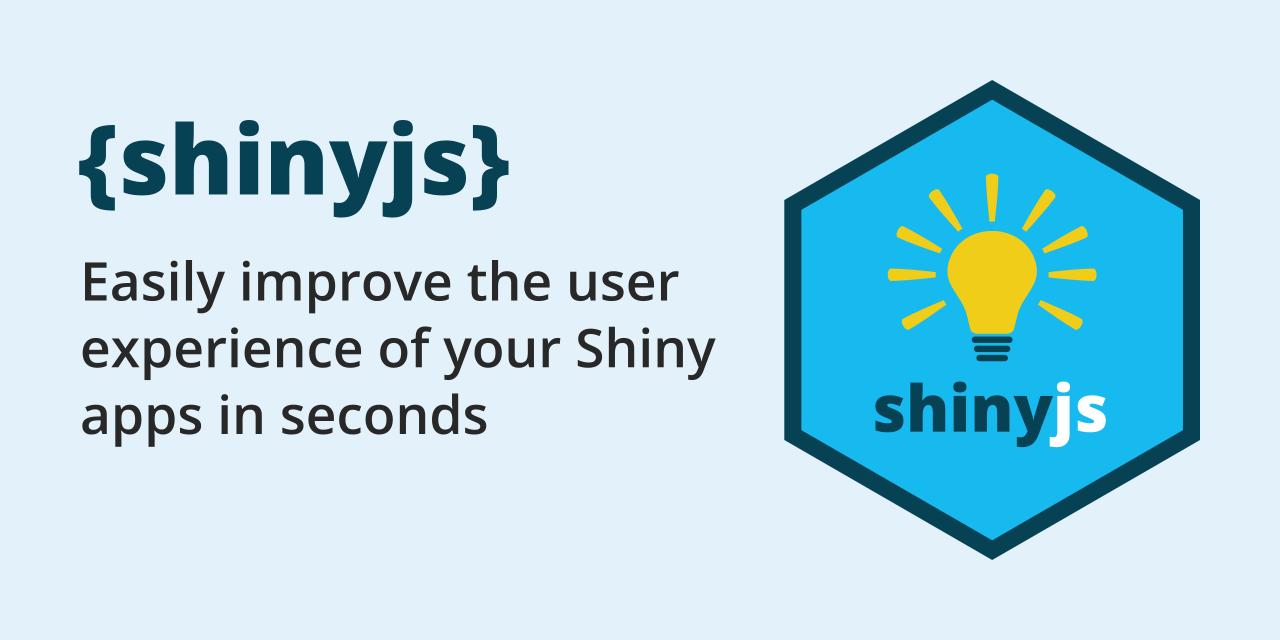 GitHub - daattali/shinyjs: 💡 Easily improve the user experience of your Shiny apps in seconds