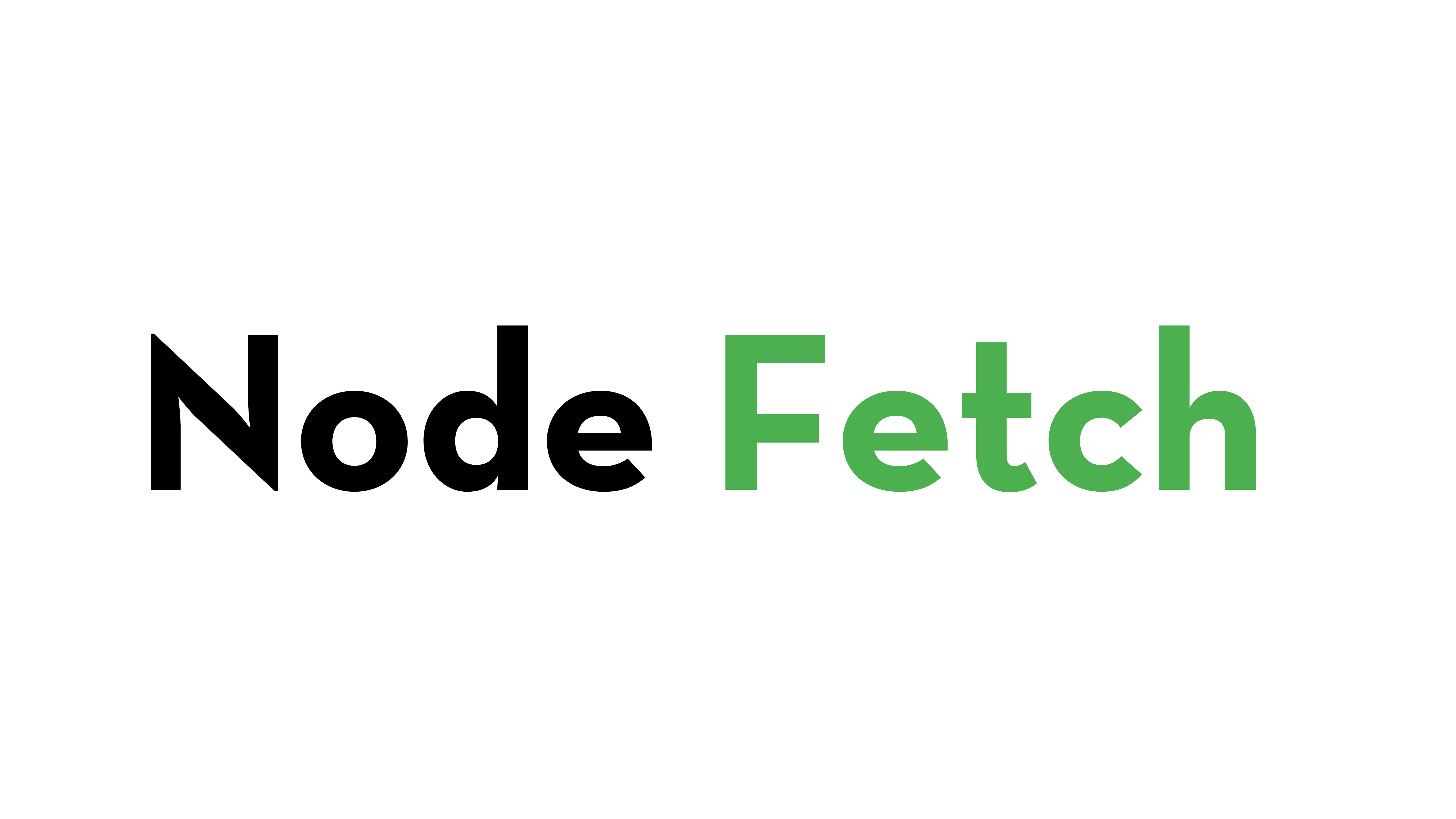 node-fetch
