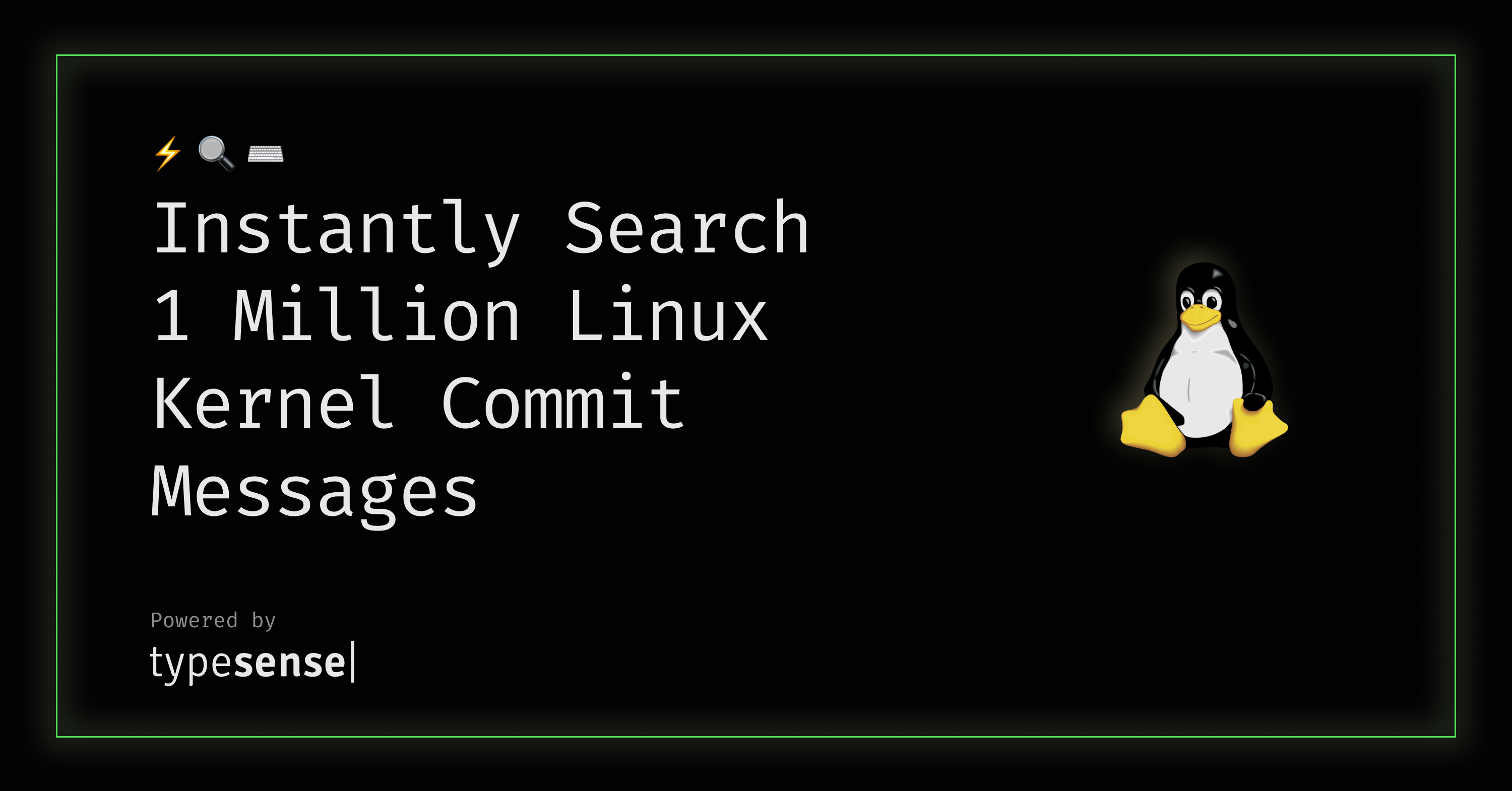 showcase-linux-commits-search