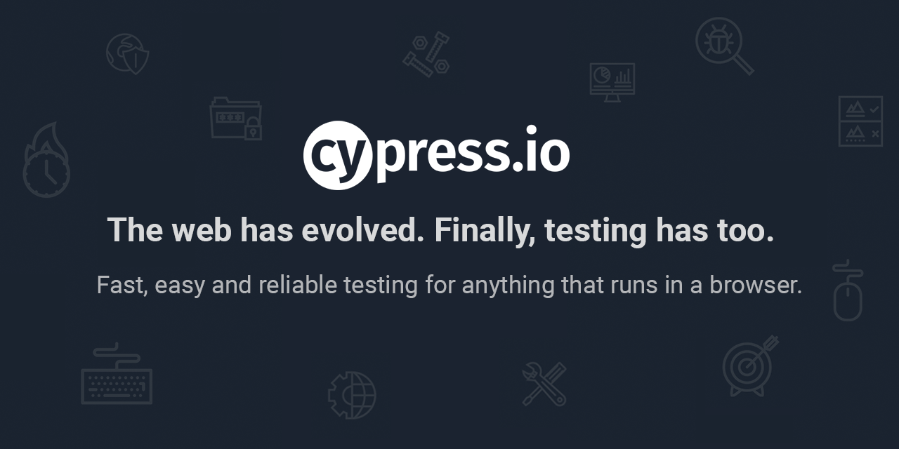 GitHub - cypress-io/cypress: Fast, easy and reliable testing for