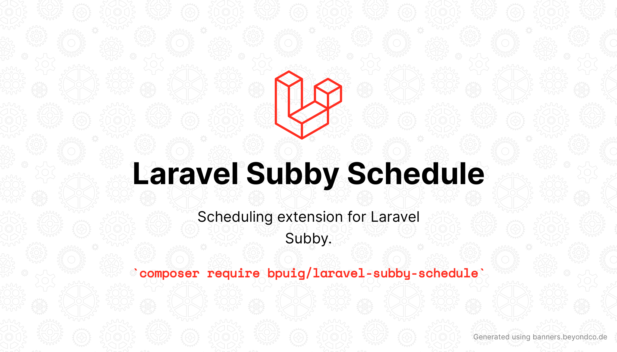 Social Card of Laravel Subby Schedule