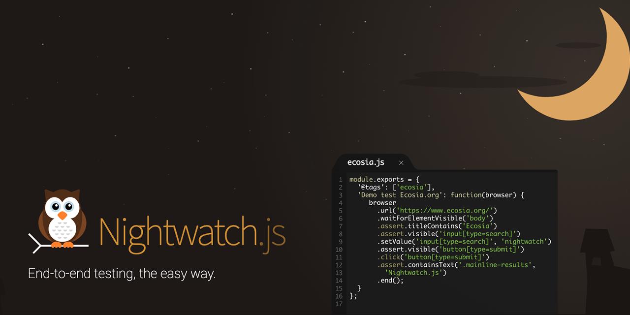 nightwatch · GitHub Topics · GitHub