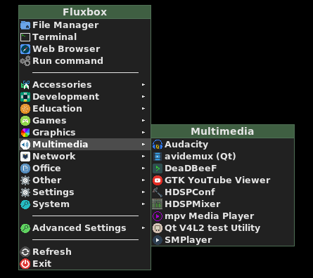 GitHub - trizen/fbmenugen: Fluxbox menu generator (with