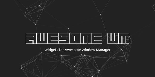 awesome-wm-widgets