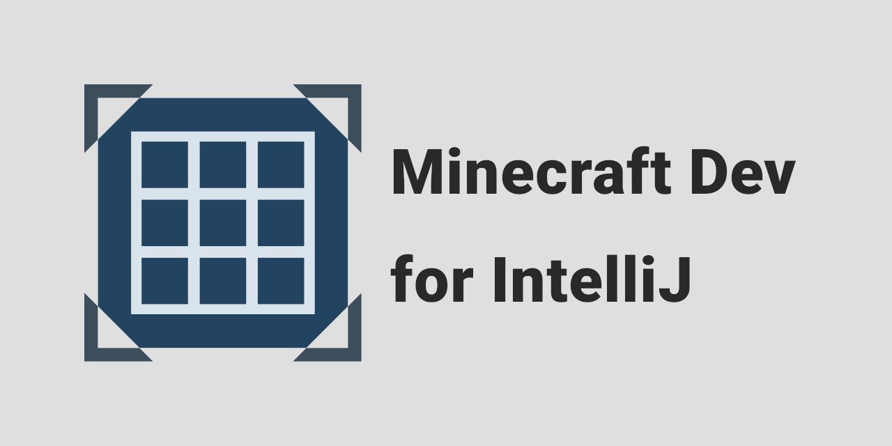 GitHub - minecraft-dev/MinecraftDev: Plugin for IntelliJ
