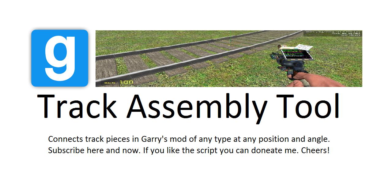 GitHub - dvdvideo1234/TrackAssemblyTool: A Garry's mod tool for