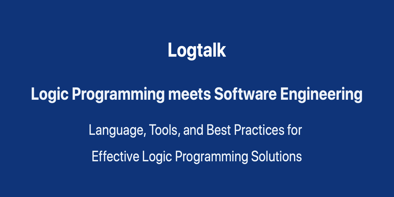 logtalk3/RELEASE_NOTES md at master · LogtalkDotOrg/logtalk3