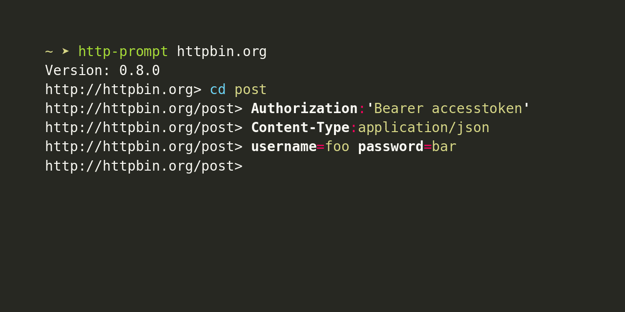 http-prompt