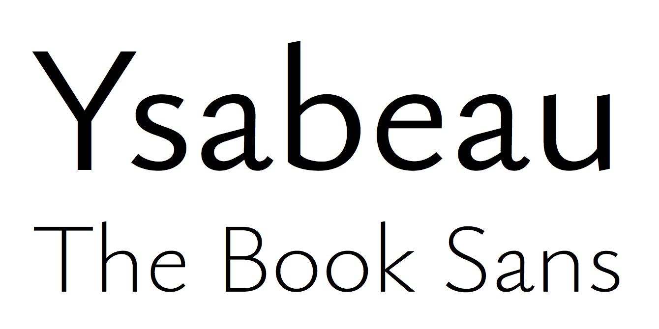 GitHub - CatharsisFonts/Ysabeau: Ysabeau: The essence of
