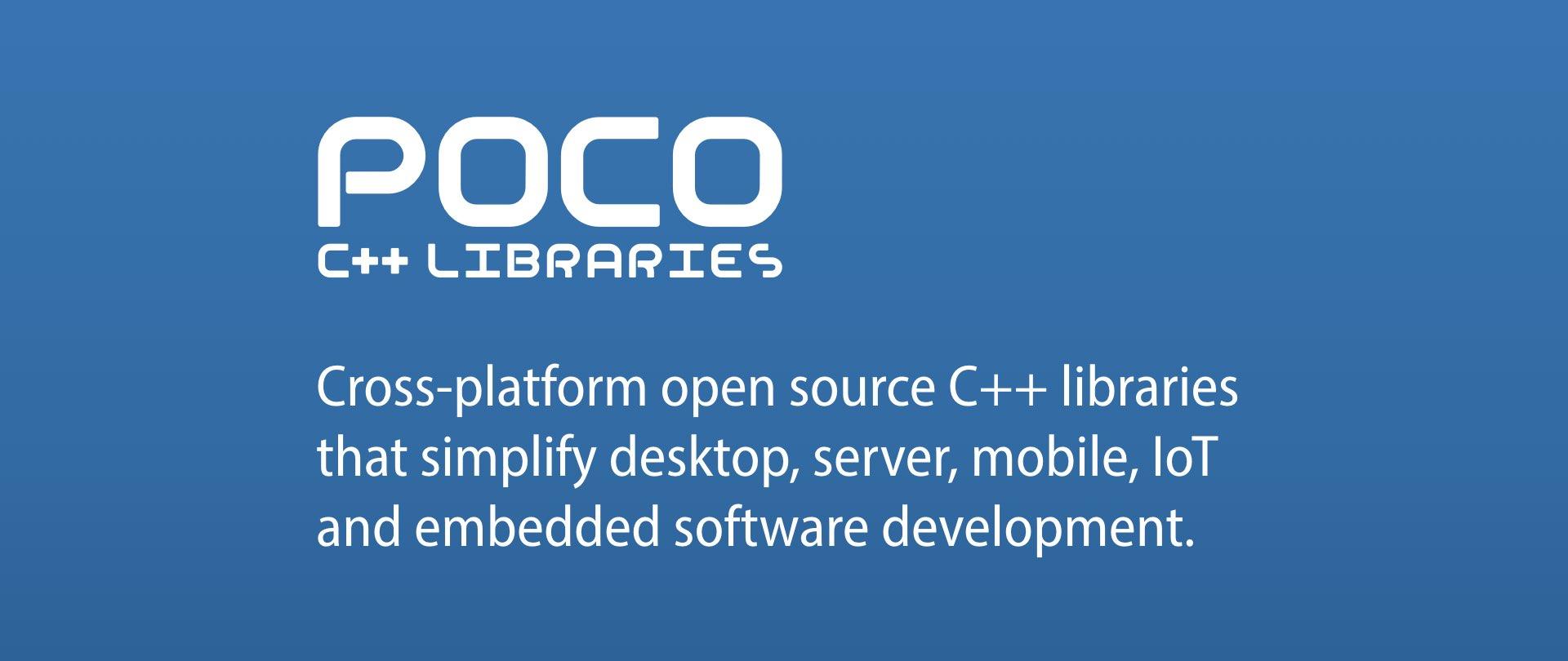 GitHub - pocoproject/poco: The POCO C++ Libraries are