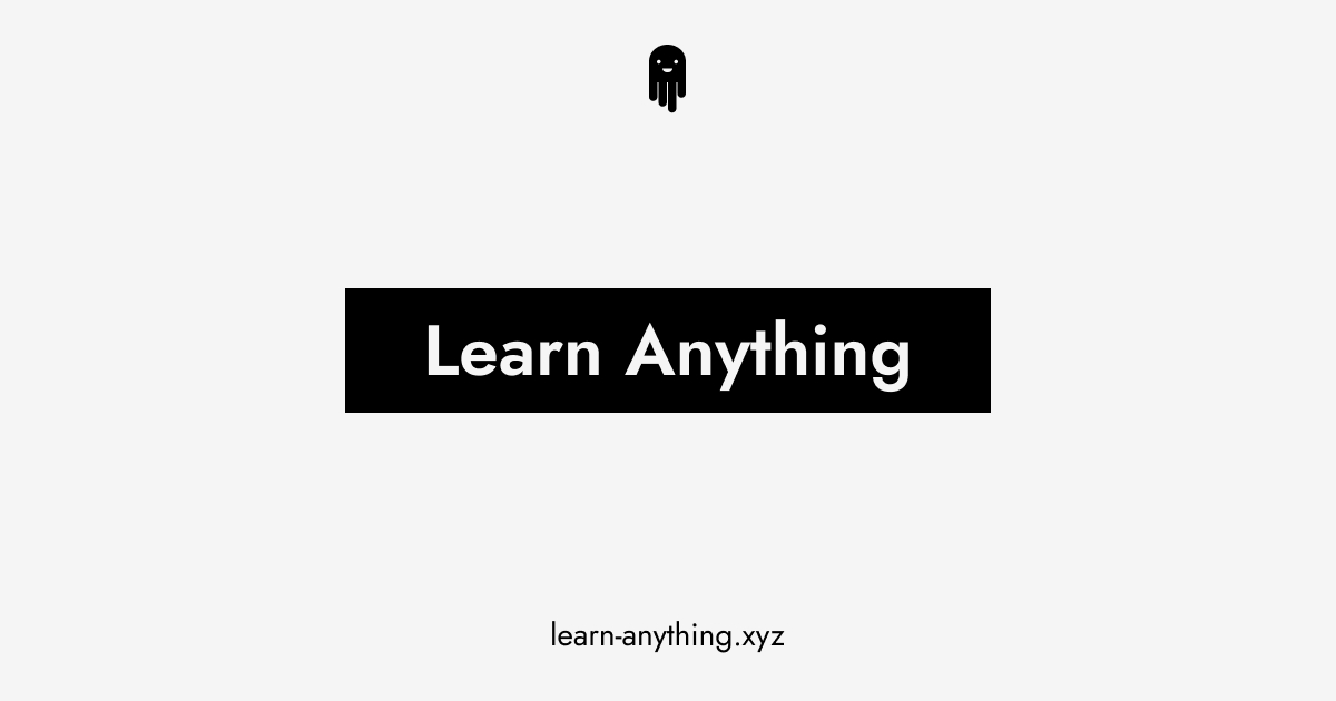 learn-anything