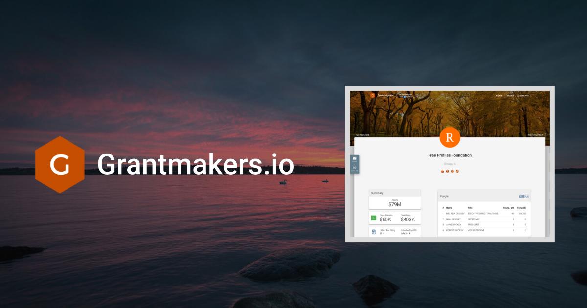 grantmakers.github.io