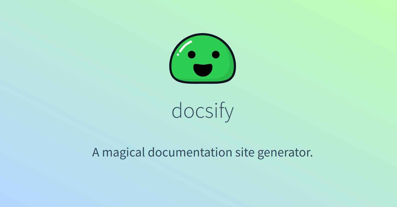 docsifyjs/docsify