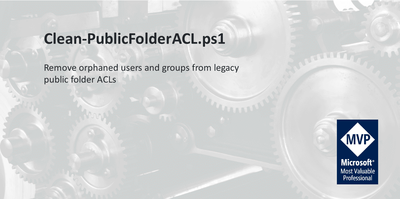 Clean-PublicFolderACL