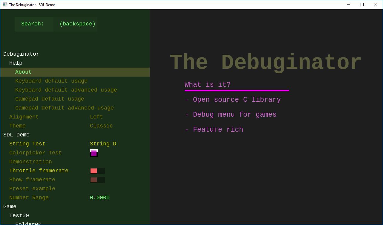 GitHub - Srekel/the-debuginator: A juicy feature-packed