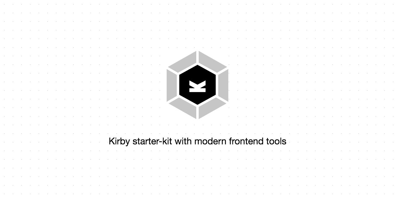GitHub - brocessing/kirby-webpack: A Kirby CMS starter-kit