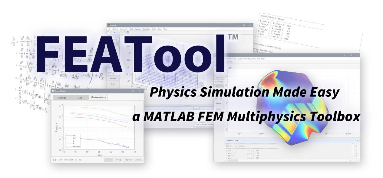GitHub - precise-simulation/featool-multiphysics: FEATool
