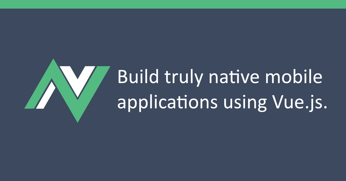 nativescript-vue