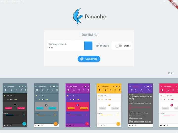GitHub - rxlabz/panache: Flutter Material Theme editor