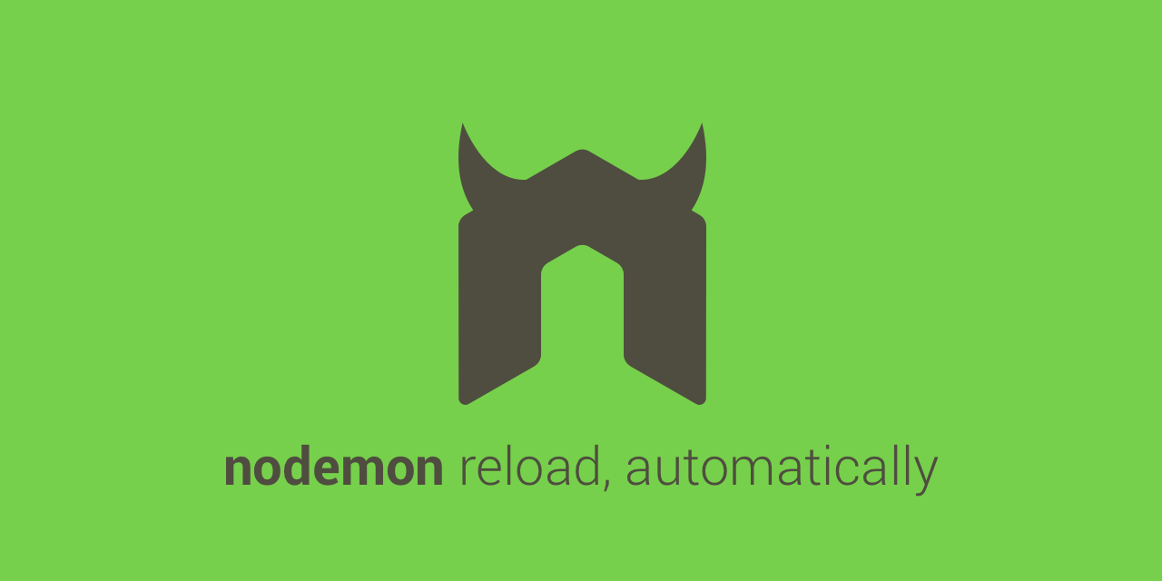 GitHub - remy/nodemon: Monitor for any changes in your node